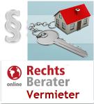 Der RechtsBerater für Vermieter - Online