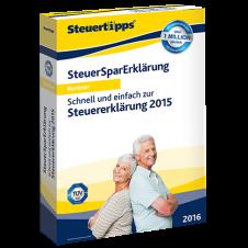 Vorschaubild von SteuerSparErklärung für Rentner 2016