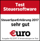 Test Steuersoftware Euro
