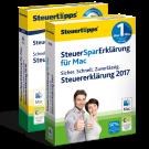 SteuerSparErklärung 2017 und 2018 im Paket, Mac-Version