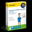 SteuerSparErklärung 2020 Mac-Version vom Hersteller | Download oder CD