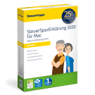 SteuerSparErklärung für Rentner 2020 in der Mac-Version