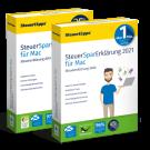 SteuerSparErklärung 2020 und 2021 im Paket, Mac-Version