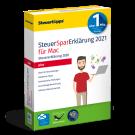 SteuerSparErklärung plus 2021, Mac-Version - gewerbliche Lizenz